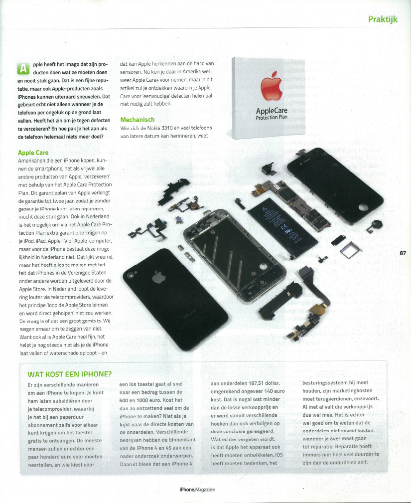 iphone magazine iphone reparatie centrum artikel