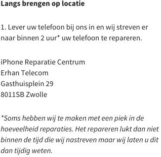 iphone reparatie brengen